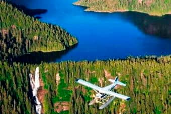 Misty Fjords National Monument by Seaplane image