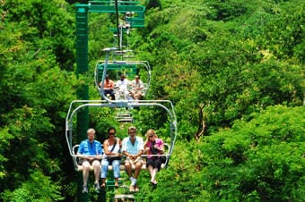 Mystic Mountain Rainforest Aerial Chairlift image