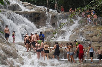 Dunn's River Falls Adventure & Bamboo Beach Club VIP Experience Enlarged image 1