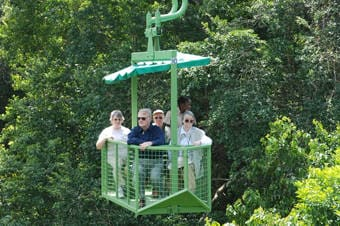 Panama's Rainforest Aerial Tram Enlarged image 1