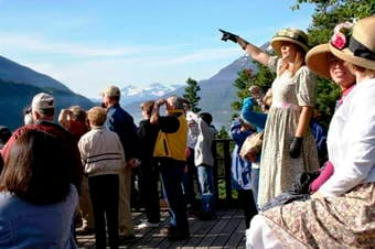 Local Connections: Skagway Street Car City Tour with Storyteller Thumbnail image 2