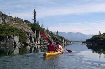 Glacier Lake Kayak,Scenic Rail & Klondike Summit Enlarged image 1