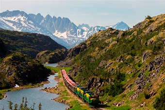 Alpine Lake Kayak,Scenic Rail & Klondike Summit Thumbnail image 2