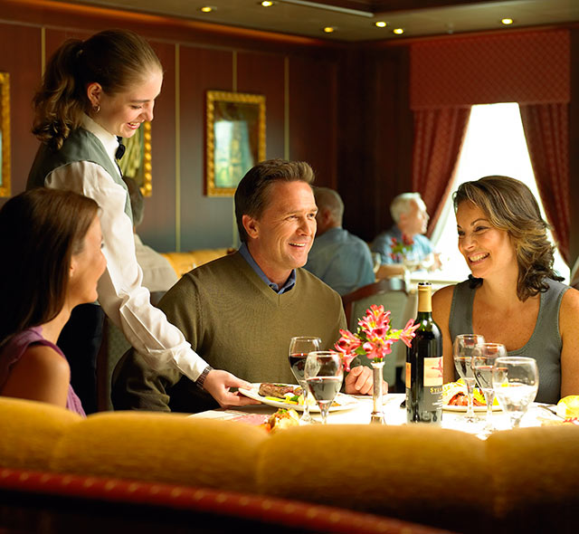 Inclusive Cruise Dining Princess Cruises