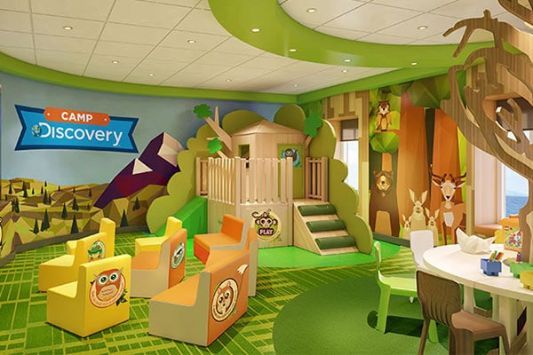 In partnership with Discovery Communications, Princess has developed engaging new youth programming and wonder-filled center designs for cruisers ages 3 to 17.