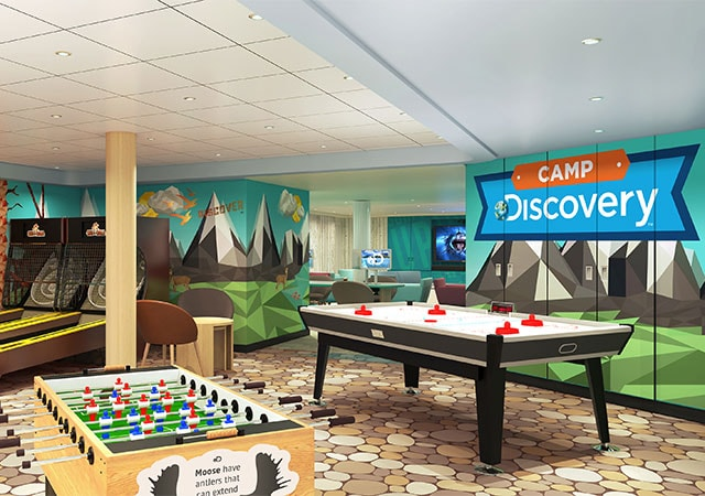 The Lodge is where kids can explore, hang out and lounge.