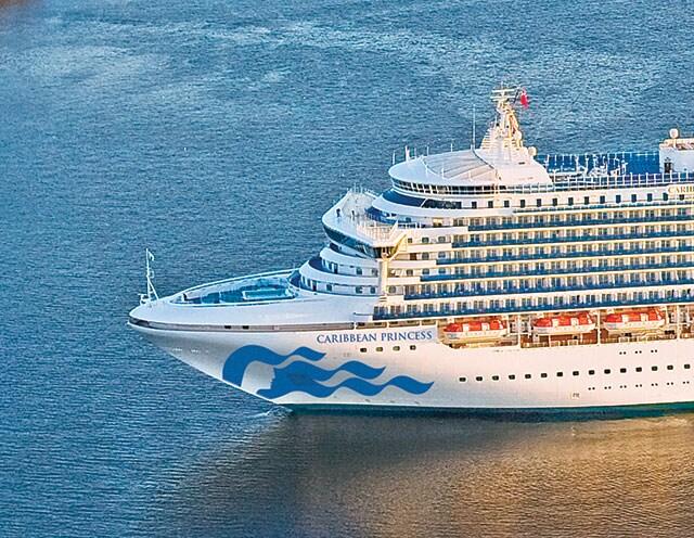 Caribbean Princess Drydock  Princess Cruises