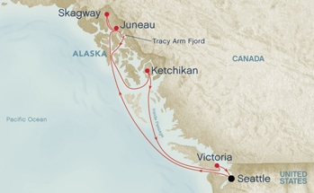 7 Day Roundtrip Seattle Alaska Cruises On Golden Princess From 649 Us Special Offer By