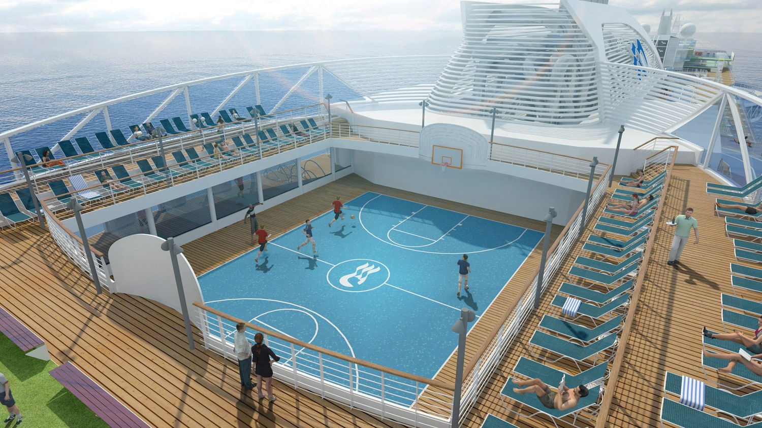 Princess Cruises Unveils Royal Princess Fitness Facilities