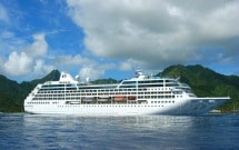Pacific Princess in the South Pacific