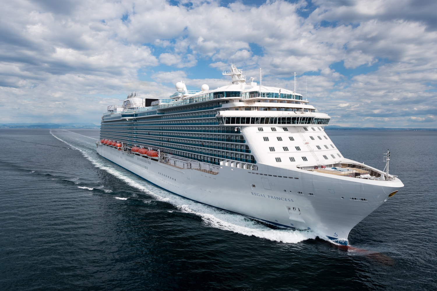 Regal Princess Completes Successful Sea Trials  Princess
