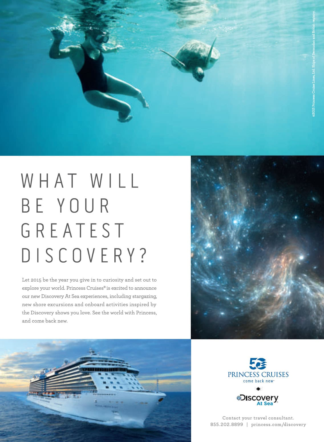 Princess Cruises Launches 2015 Come Back New Advertising