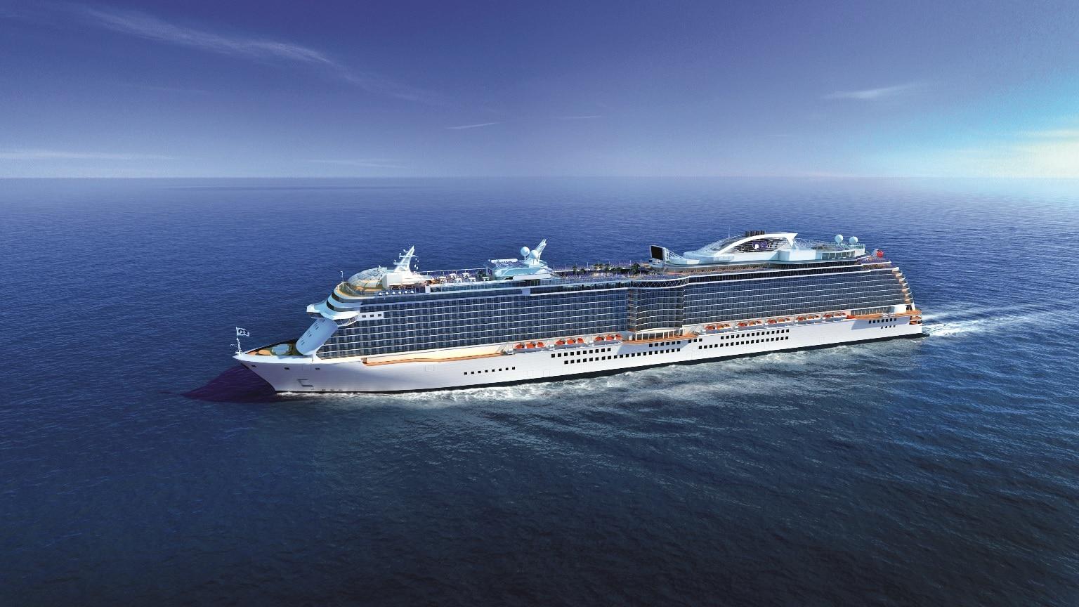Princess Cruises Next New Ship To Be Based In China Year Round - Chinese cruise ship