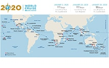 World Cruise 2020.Princess Cruises Reveals 2020 World Cruise Onboard Pacific