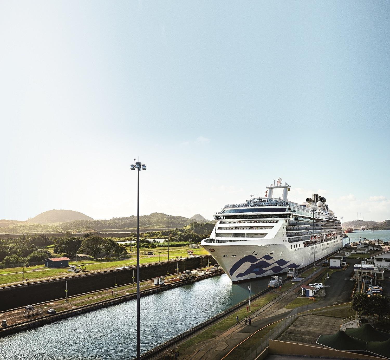 Princess Cruises Reveals 2019-2020 Panama Canal