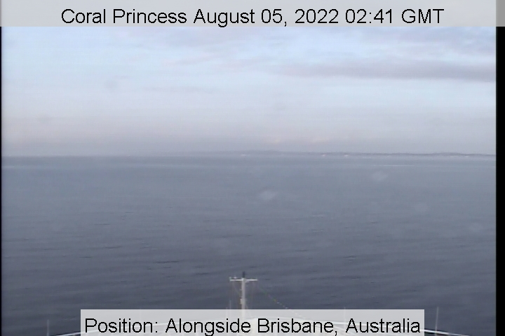 Schiff Coral Princess Webcam