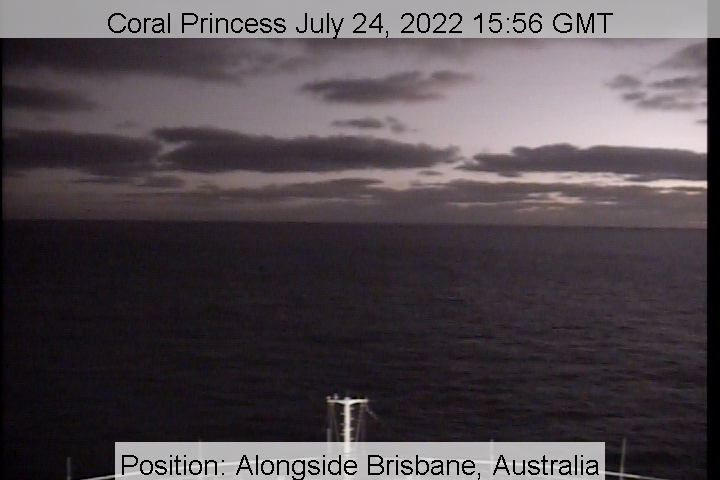 Coral Princess Webcam