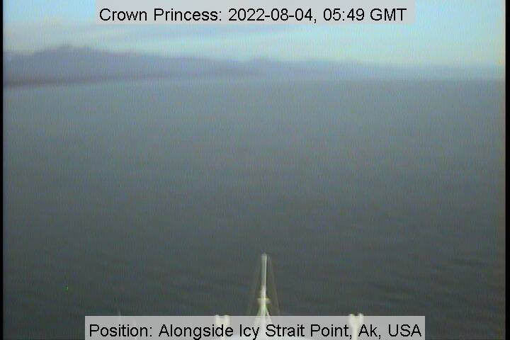 Crown Princess Ship Tracker Satellite Location View