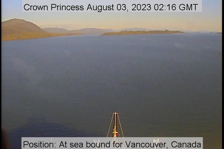 Crown Princess webcam