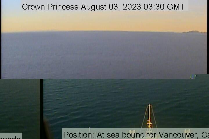 Crown Princess web cam