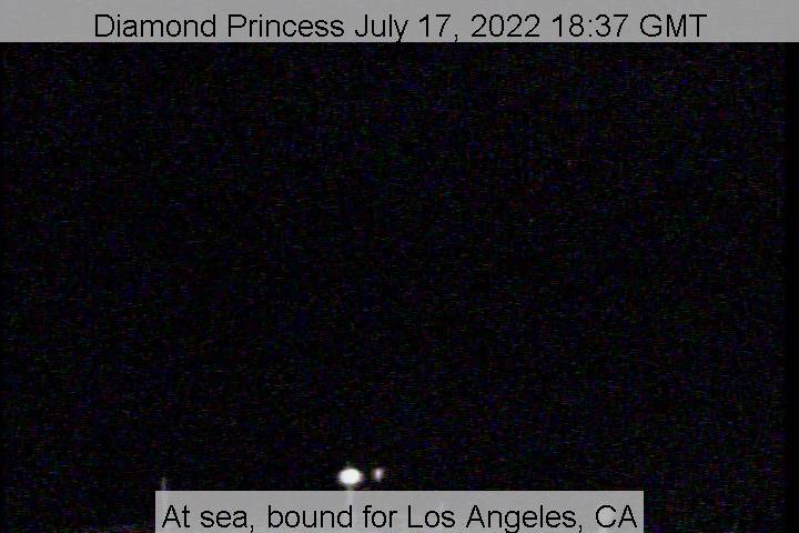 Diamond Princess webcam