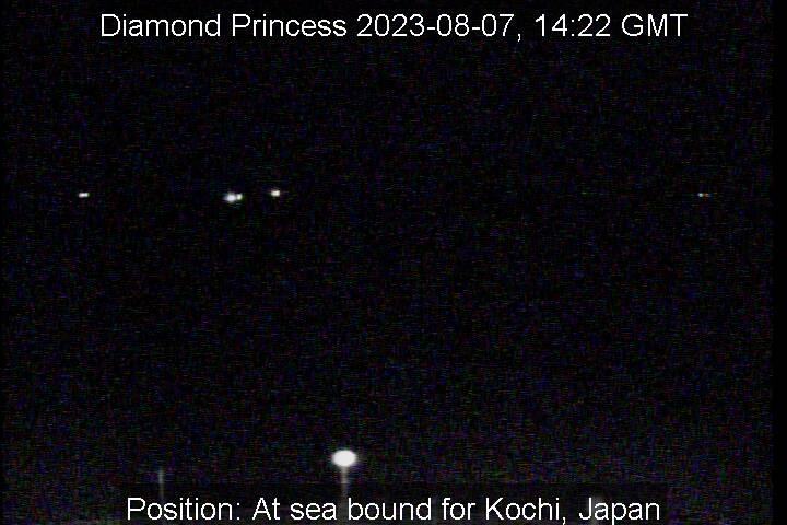 Diamond Princess web cam