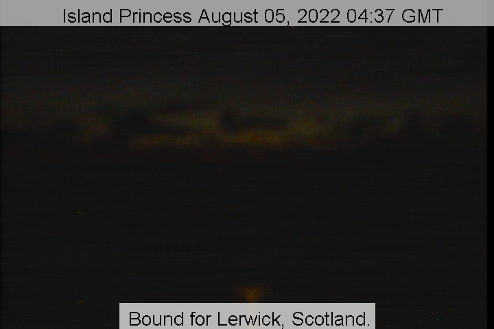 Schiff Island Princess Webcam