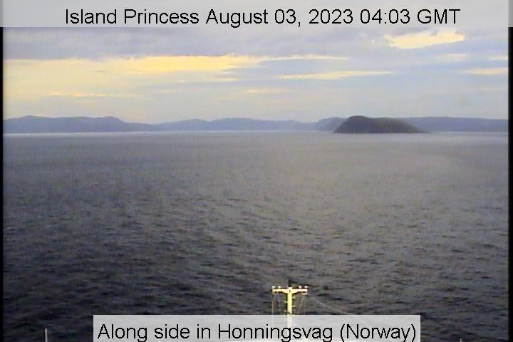 Bridge Camera on Island Princess
