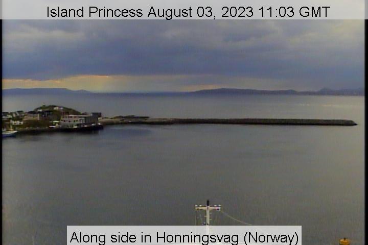 Island Princess web cam