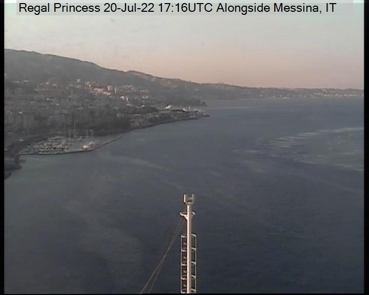 Schiff Regal Princess Webcam