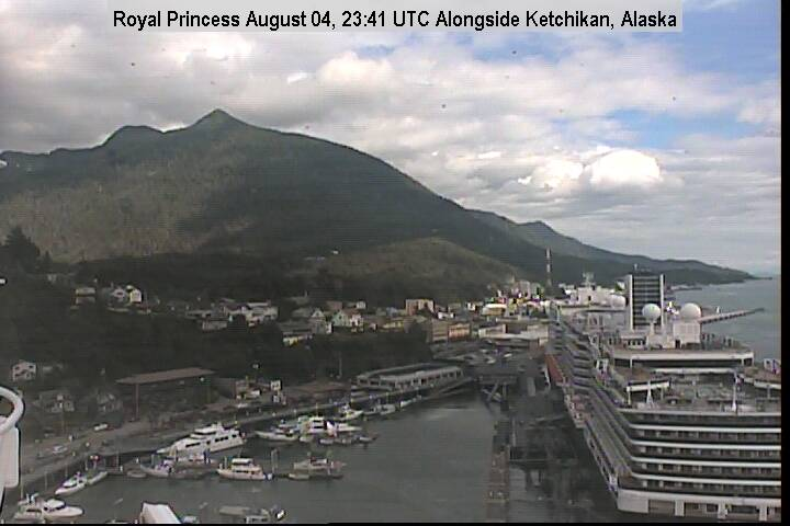 Royal Princess Webcam Visuale di prua