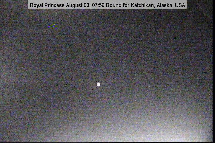 webcam du bateau Royal Princess vue avant