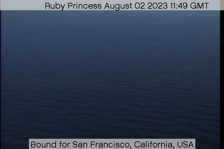 Ruby Princess webcam