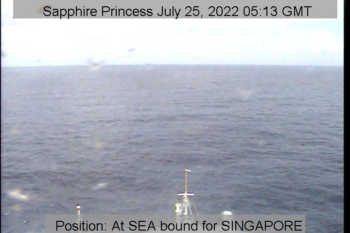 Sapphire Princess Webcams Bridge Cam