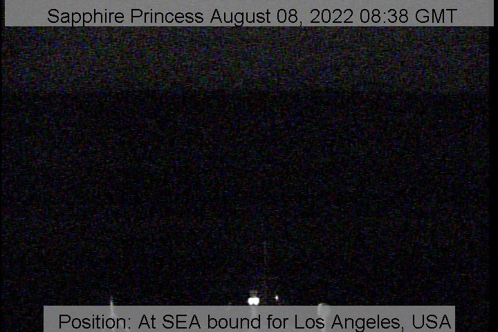 Webcam For The Sapphire Princess